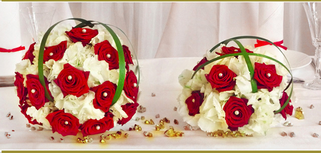 Wedding Bouquet - Roses
