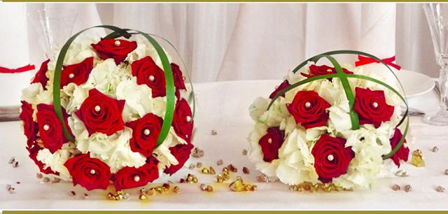 Wedding Bouquet - Roses