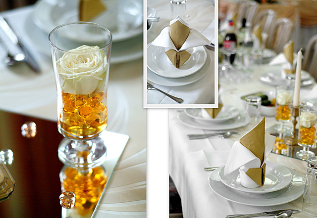 Simple Wedding Table Decorations Robs Viva